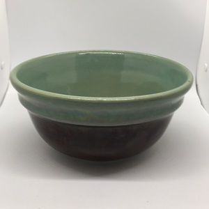 Vintage Red Wing Pottery Large Mixing Bowl